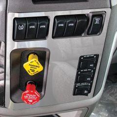 PB 567/579 Air Valve and Main Switch Panel Trim