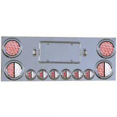 Stainless Steel Dual Revolution LED Center Panel