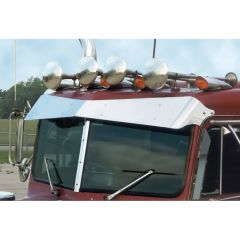 Peterbilt 359 Bow-Tie Visor (1973-86)