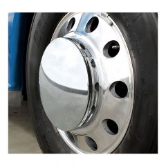 Front Moon Axle Cover w/33mm Thread On Nut Covers