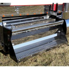 """Kenworth 49.5"""" Battery Box Cover and Step Kit"""