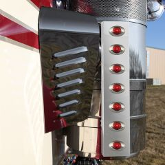 """KW 15"""" Donaldson Air Cleaner Bars with M3 LED Lights"""