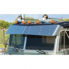 Peterbilt Flat Top Bow-Tie Visor (1988-2005)