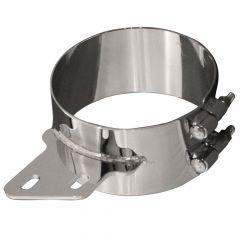 8-Inch D x 3-Inch W Peterbilt Angled Bracket Clamp
