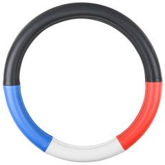 """Red, White and Blue Steering Wheel Cover 18"""""""