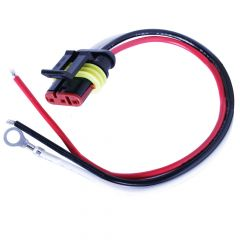 "3-Pin Pigtail Plug 8"" Lead"