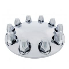 33mm Thread-On Moon Style Front Axle Cover Set