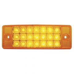 "5-7/8"" x 2"" 21 LED Rectangular Clearance Marker Light"