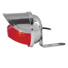"""2"""" Red Beehive Light with """"L"""" Bracket and Visor"""