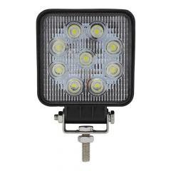 "4"" 9 LED Square Work Light"