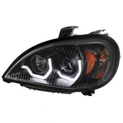 Freightliner Columbia Blackout Projection Headlights with LED (EA)