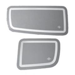 Peterbilt Stainless Steel Door Insert Panels