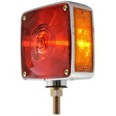 SQUARE COMBINATION LIGHT AMBER - RED