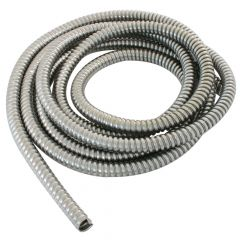 "3/8"" Dia. x 10' Stainless Steel Flexible Wire Loom"