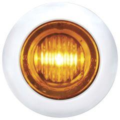 3 LED Mini Clearance/Marker Light with Bezel