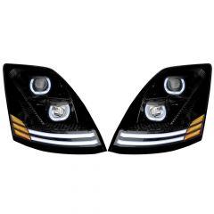 Volvo VNL Blackout Projector Headlights