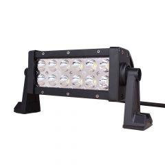 "8"" 12 LED Magma Amber/White Dual Color Light Bar"
