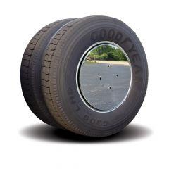 Twist & Lock Aero Wheel Covers Stainless 3/4 Stud