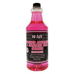 WAB Polished Aluminum & Stainless Steel Cleaner