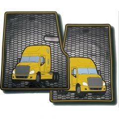 Freightliner Cascadia, Coronado Rubber Floor Mats