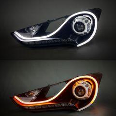 "24"" Headlight DRL/Turn Signal LED Strip Light Kit"