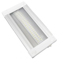 Clear Grooved Rectangle Interior Light