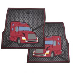 Volvo Rubber Floor Mats (PR)