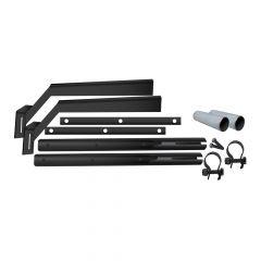 Black Stainless Steel Half Fender Mounting Kit