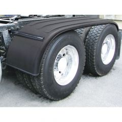 "133"" Ribbed Poly Full Fenders and Mounting Kit"