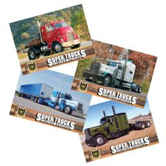 Series 16 CAT Scale Super Trucks Card Set
