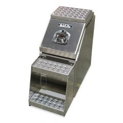 "12"" Big Mouth Aluminum Step Tool Box"