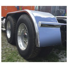 """144"""" 430 Stainless Full Tandem Low Rider Fenders"""