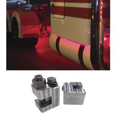 Universal Underbody Glow Kit Frame Bracket Clamps