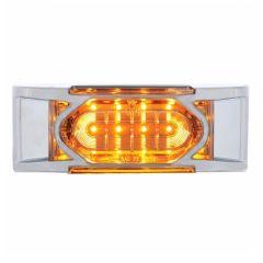 "6"" 16 LED Reflector Marker Light w/ Bezel"