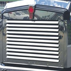 Kenworth T800 Stainless Louvered Grill