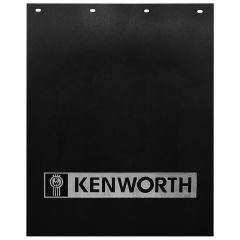 """24""""W x 30""""L Black Poly Kenworth Bar Mud Flap (EA)"""