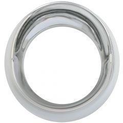 Kenworth Chrome Plastic Gauge Cover Speed/Tach