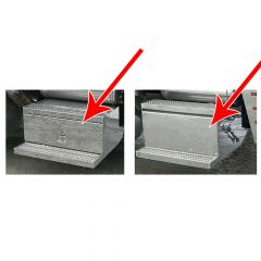 Peterbilt 379 Battery Box and Tool Box Covers