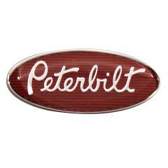 """Peterbilt 1-3/4"""" Chrome Interior Emblem"""