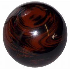 Marbled Black/Brown Wood-Look Shifter Knob