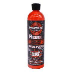 Renegade Rebel Red Show Shine Metal Polish 12 oz.