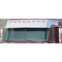"Freightliner 13"" Replacement Drop Visor M1 Lights"