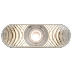 1 LED White Oval Back Up Light