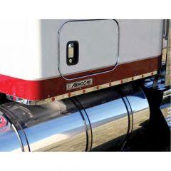 "Kenworth 62"" Aero Sleeper Panels with 18 Bulls-Eye LEDs"