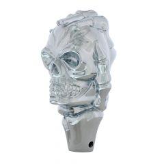 Chrome Skull & Hand Gearshift Knob