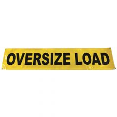 """18"""" x 84"""" Reflective Oversize Load Sign"""