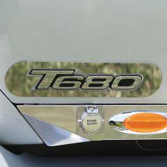 Kenworth T680 T880 Rounded Door Logo Trim