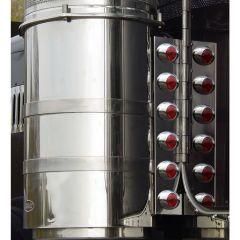 "PB Multi-Fit 15"" Rear Air Cleaner M3 Light Bars"