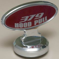 PB 379 Oval Hood Ornament with Hood Pull Base