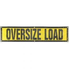 """14"""" x 60"""" Grommet Escort Oversize Load Sign"""